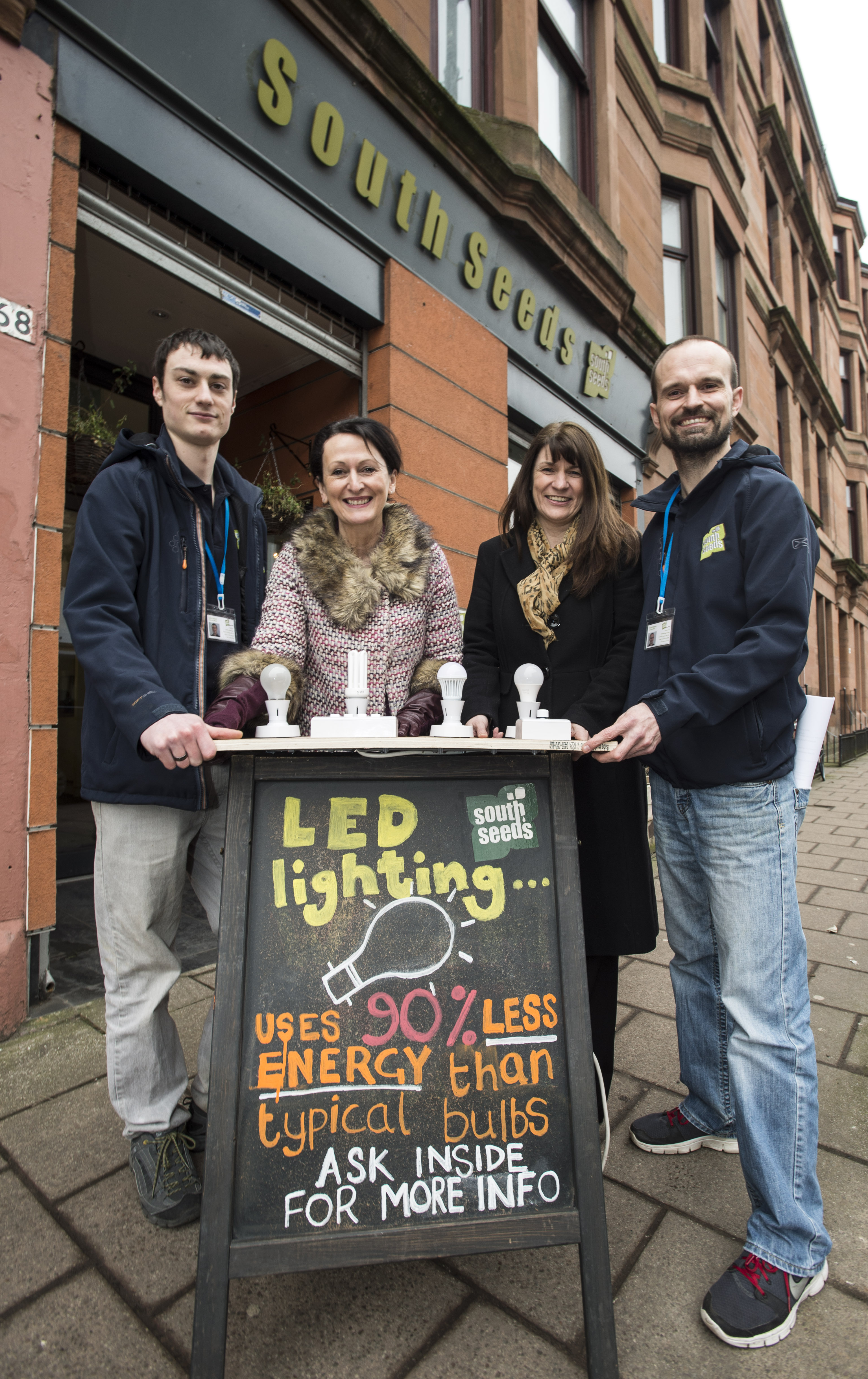 Scottish Power Energy Trust and South Seeds